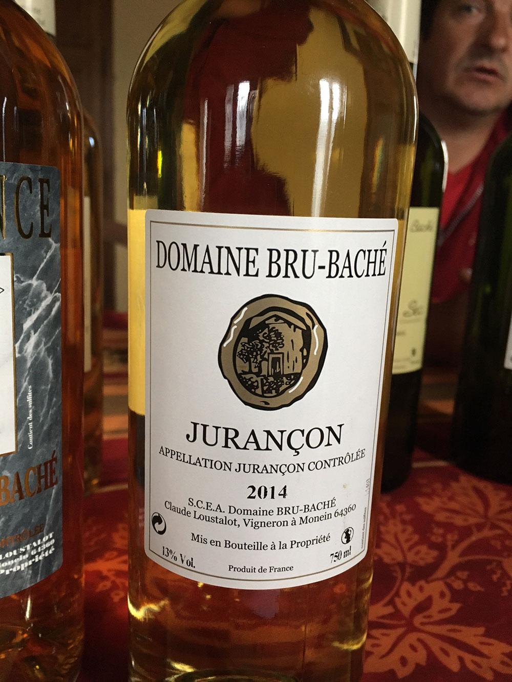 Domaine de Jurançon, Jurancon bio, Producteur de jurançon bio